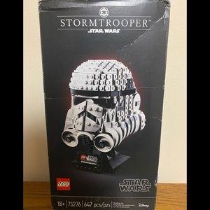 Storm trooper Lego helmet
